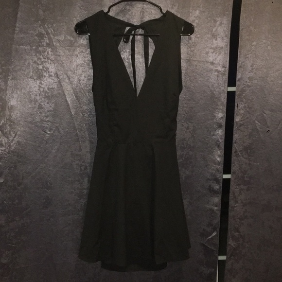 27c40db6c7 ANDIE BLACK SKATER DRESS